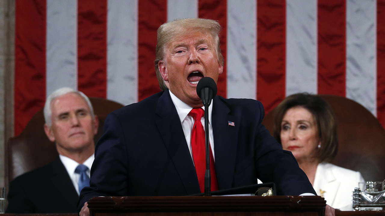 Westlake Legal Group image Leslie Marshall: SOTU address continues Trump's role as divider in chief Leslie Marshall fox-news/us/congress fox-news/person/nancy-pelosi fox-news/person/donald-trump fox-news/opinion fox-news/news-events/state-of-the-union fox news fnc/opinion fnc article 178145d9-14b9-5a34-ba91-66621b77280a
