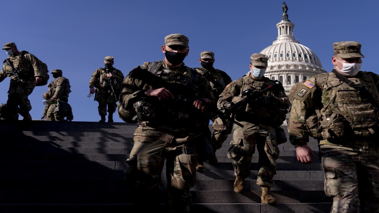 Unprecedented security in Washington ahead of Biden swearing-in