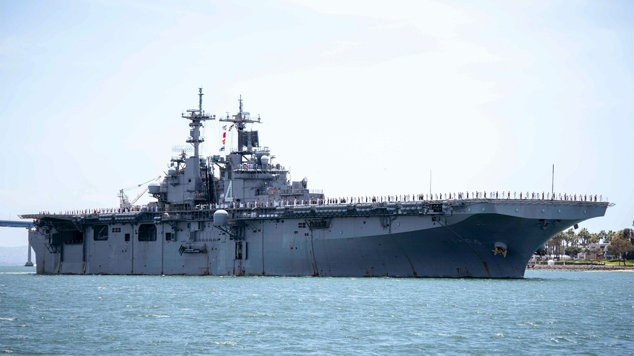 Navy sailor aboard warship tests positive for coronavirus