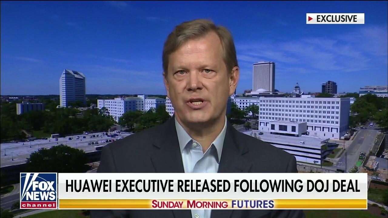 Peter Schweizer on Huawei executive release: 'Strategic retreat' by Biden admin