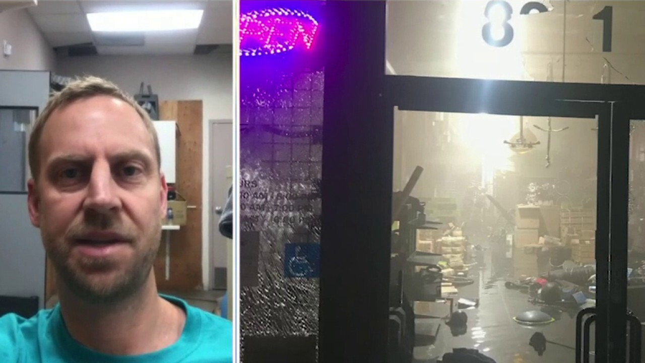 California business owner on looter returning stolen items to store