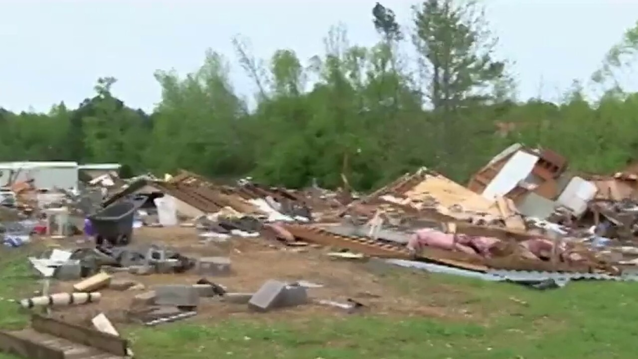 Survivors begin recovery efforts following deadly tornadoes in the South