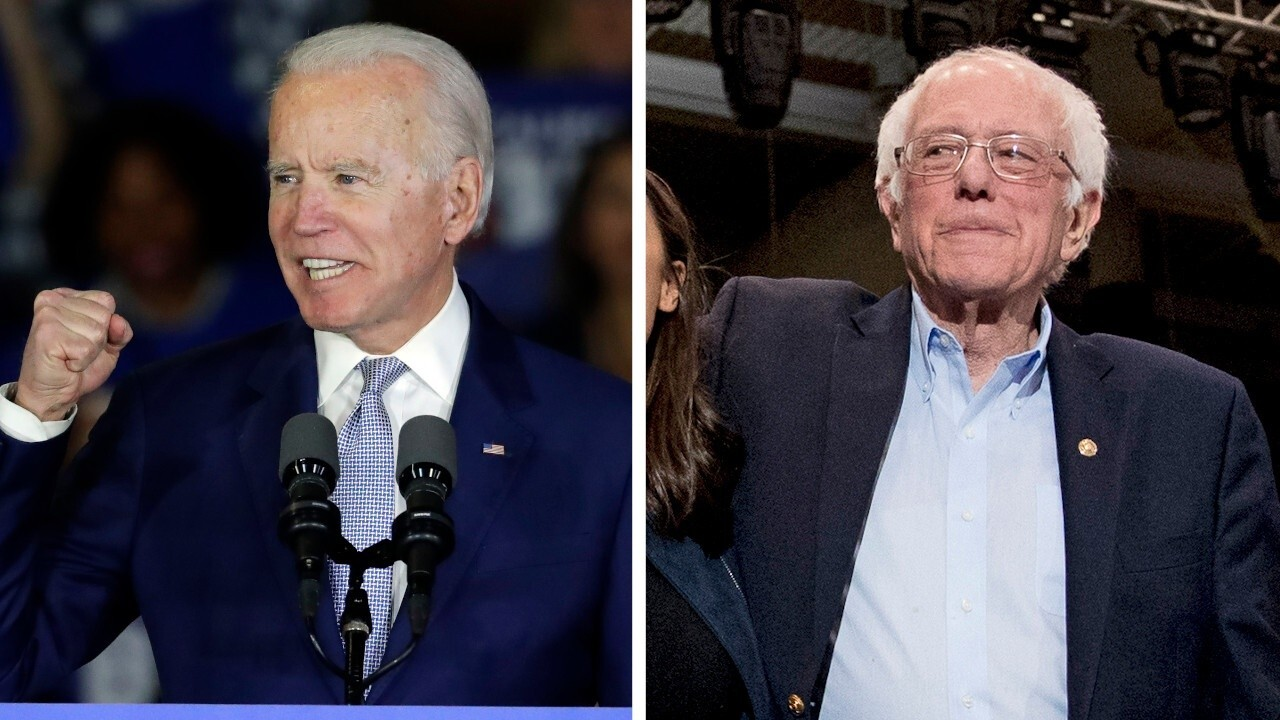 Former rivals Bernie Sanders and Joe Biden join forces to form climate change unity task force