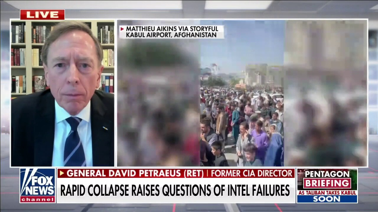 Former CIA director on 'disastrous outcome' of US exit from Afghanistan