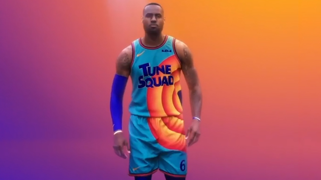 LeBron James unveils new 'Space Jam' jersey; Television Academy to honor Tyler Perry