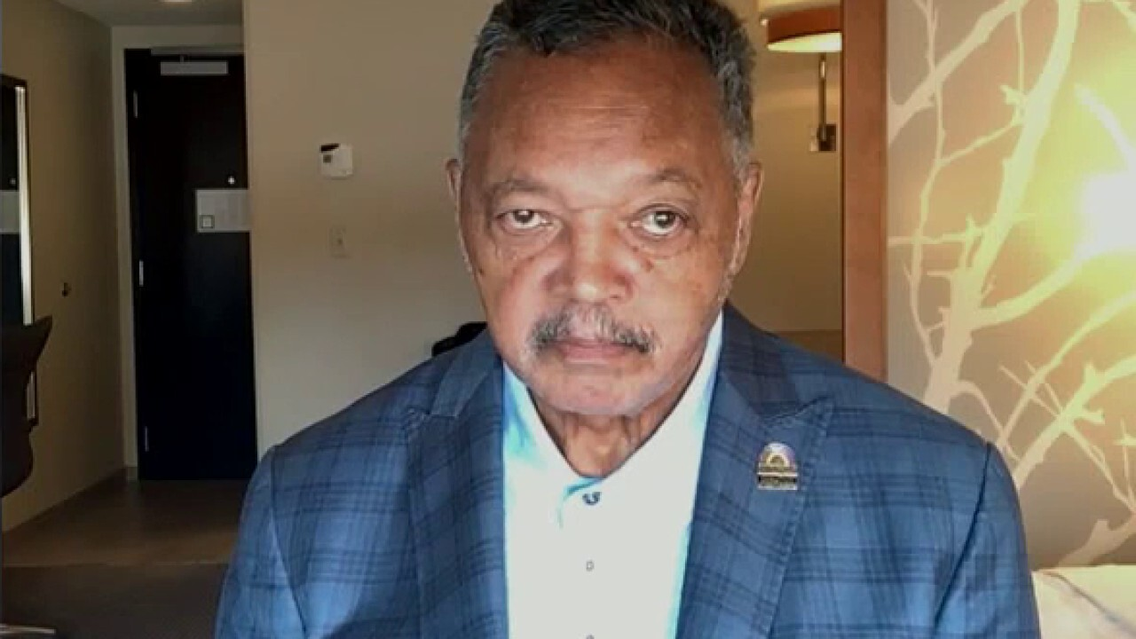 Rev. Jesse Jackson pays tribute to John Lewis