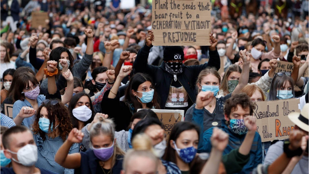 Are George Floyd protesters putting themselves at risk for the coronavirus?