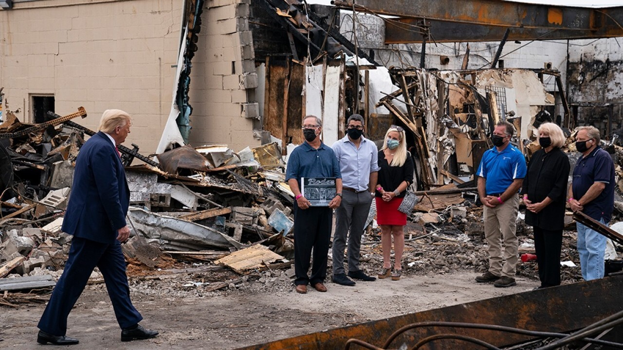 Trump, Biden campaigns target Midwest battleground states as unrest continues in Wisconsin