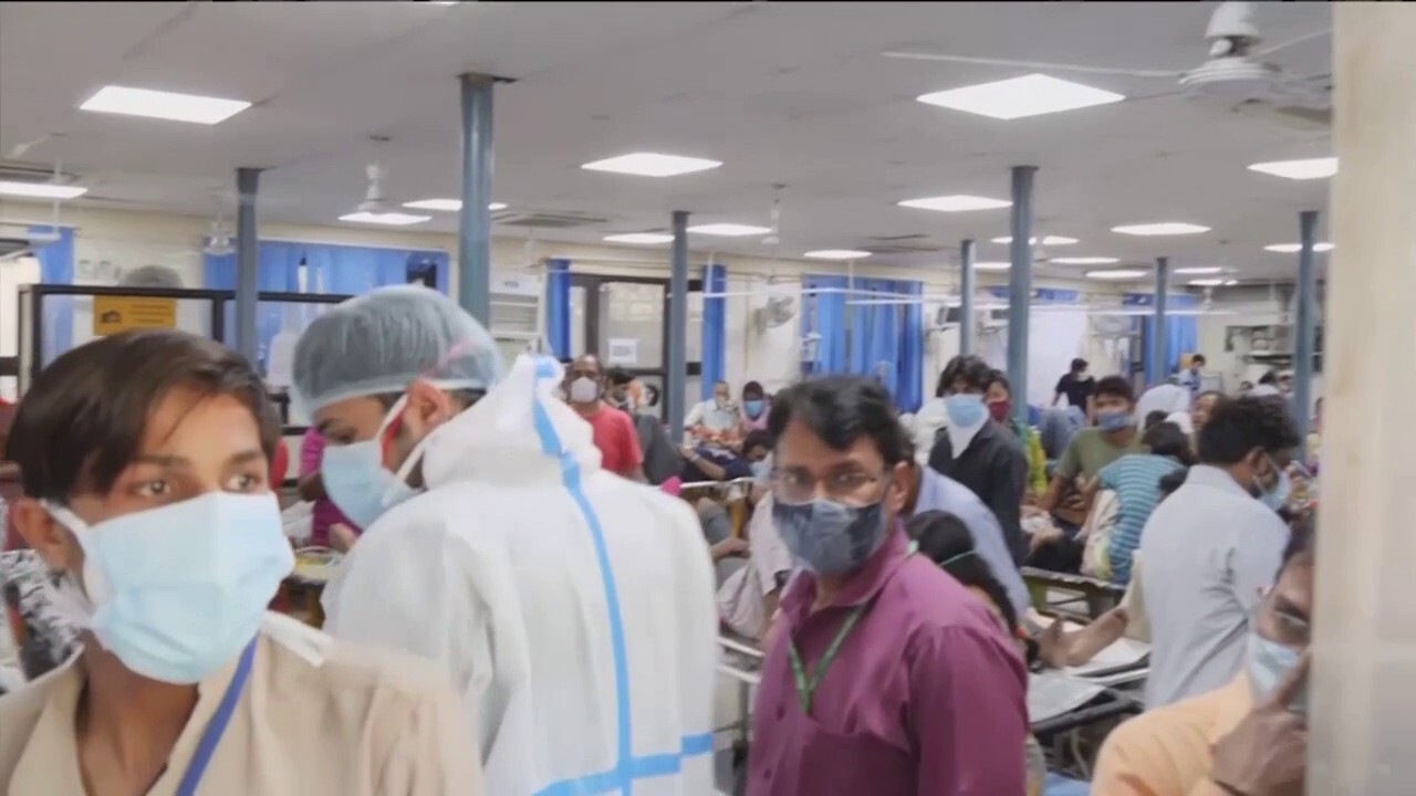 India's health care system crumbling under massive COVID-19 outbreak