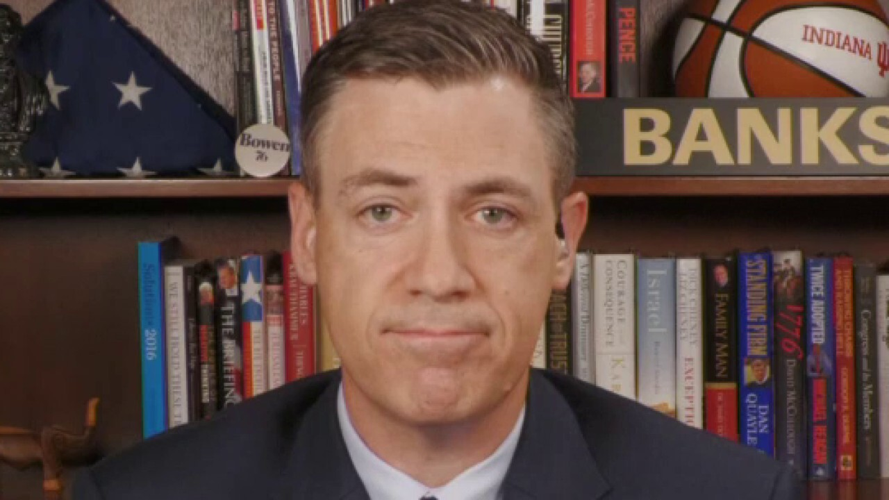 Rep. Jim Banks reacts to the Netflix film 'Cuties' on 'Fox & Friends Weekend.'