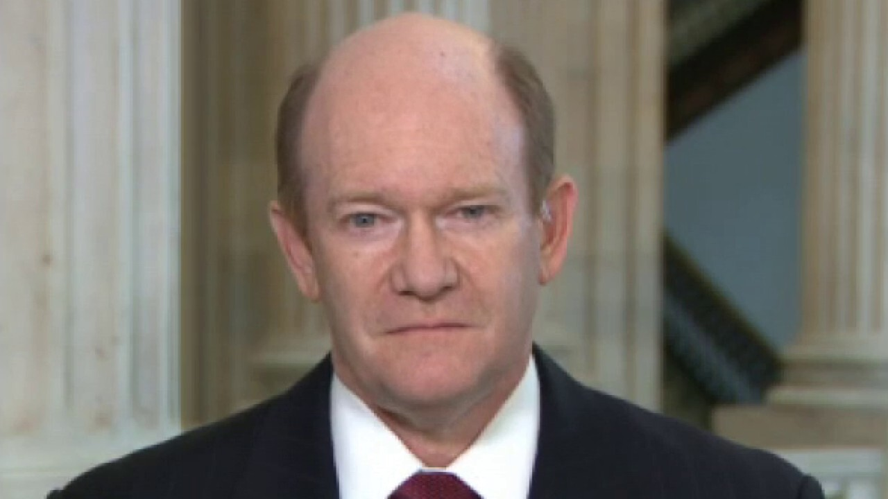 Sen. Chris Coons on status of COVID relief package negotiations, Biden's readiness to debate President Trump