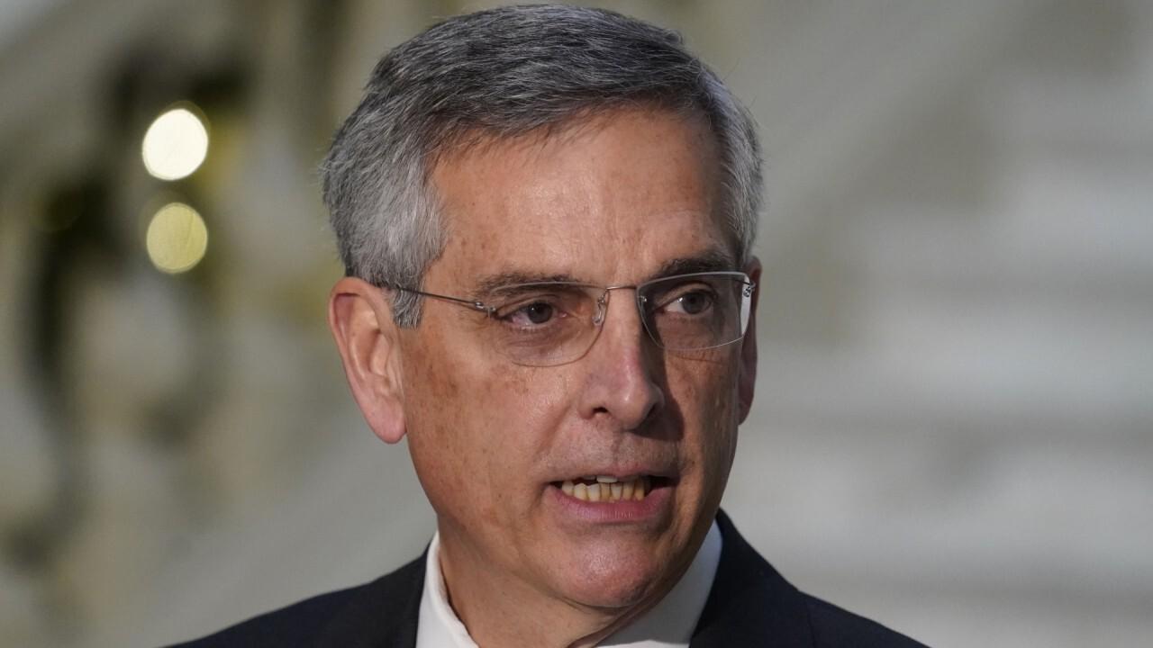 Georgia secretary of state on election integrity during Senate runoffs