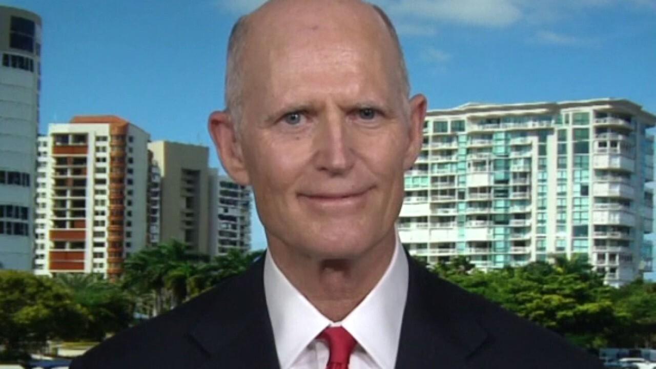 Florida Sen. Rick Scott joins Harris Faulkner on 'Outnumbered Overtime.'