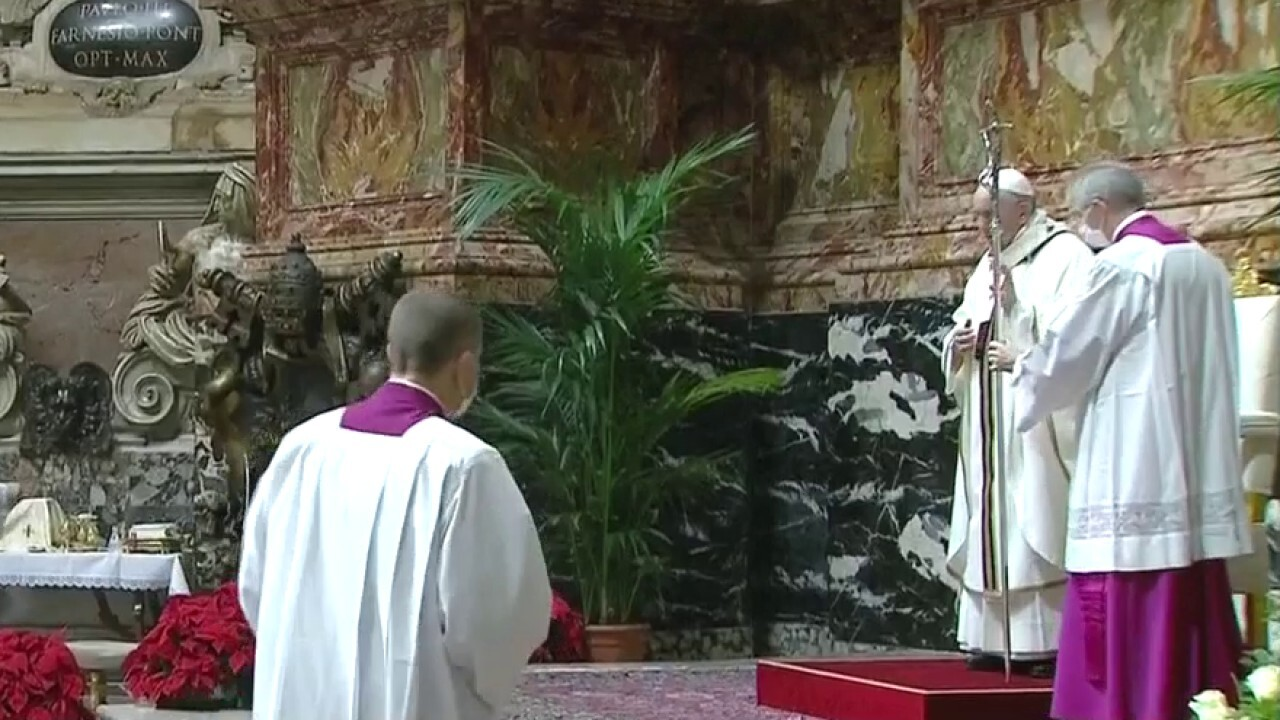 Pope Francis, other religious leaders celebrate COVID-modified Christmas