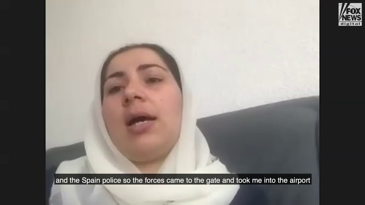 Afghan journalist, women's rights activist describe final moments in Afghanistan