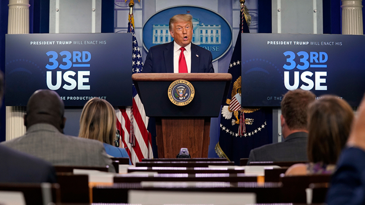 Trump touts push for pharmaceutical independence, says US must not rely on foreign nations for medical needs
