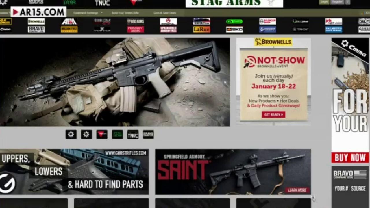 GoDaddy removes gun forum website AR15.com from its servers