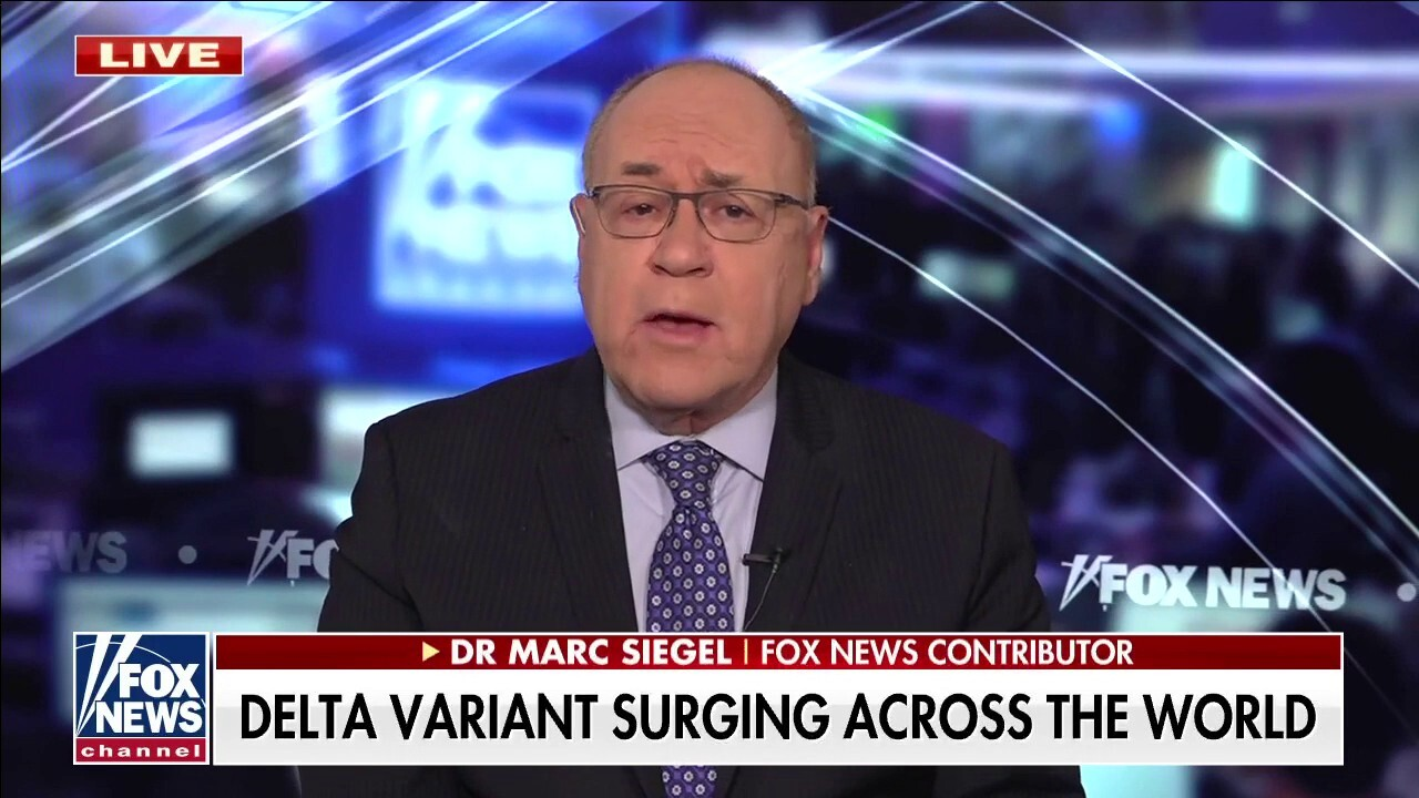Dr. Siegel: 'Mixed messaging' being sent about Delta variant