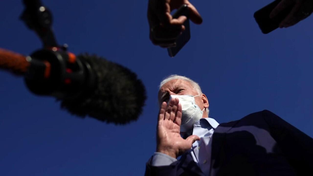 Mainstream media gushes over Biden presidency