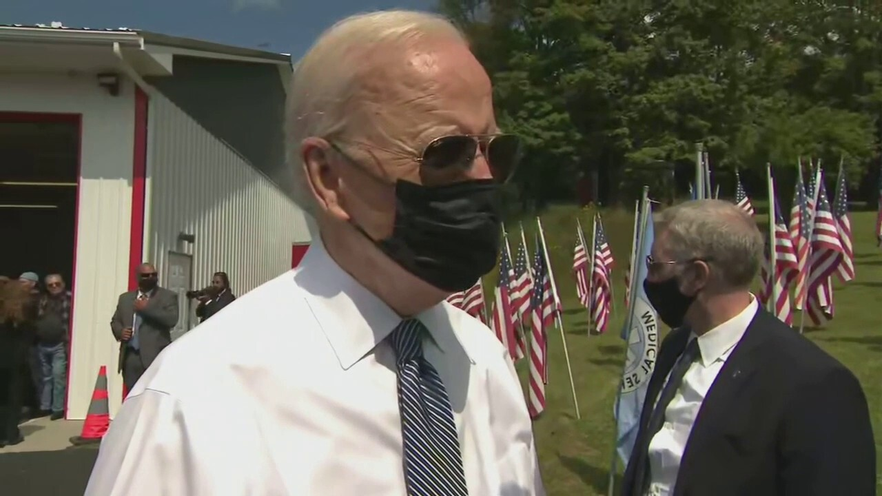 Biden defends Afghanistan withdrawal on 9/11