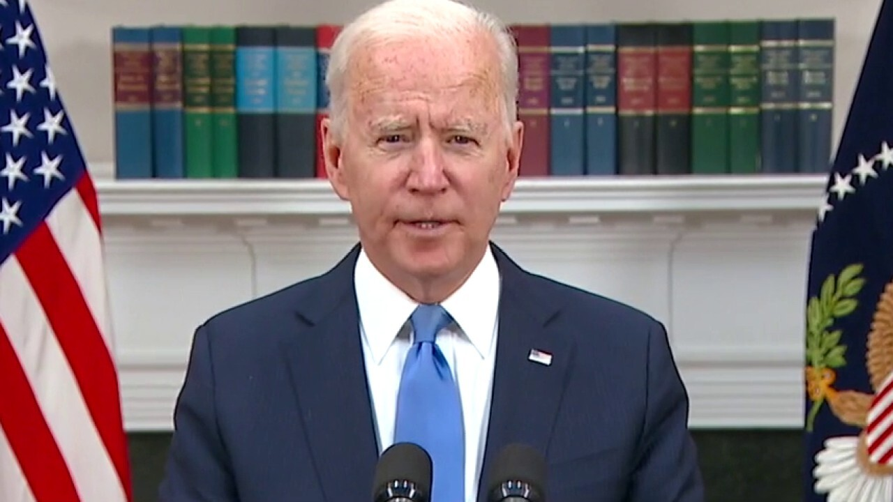 Biden refuses to comment on if pipeline hackers were paid; 'The Five' reacts