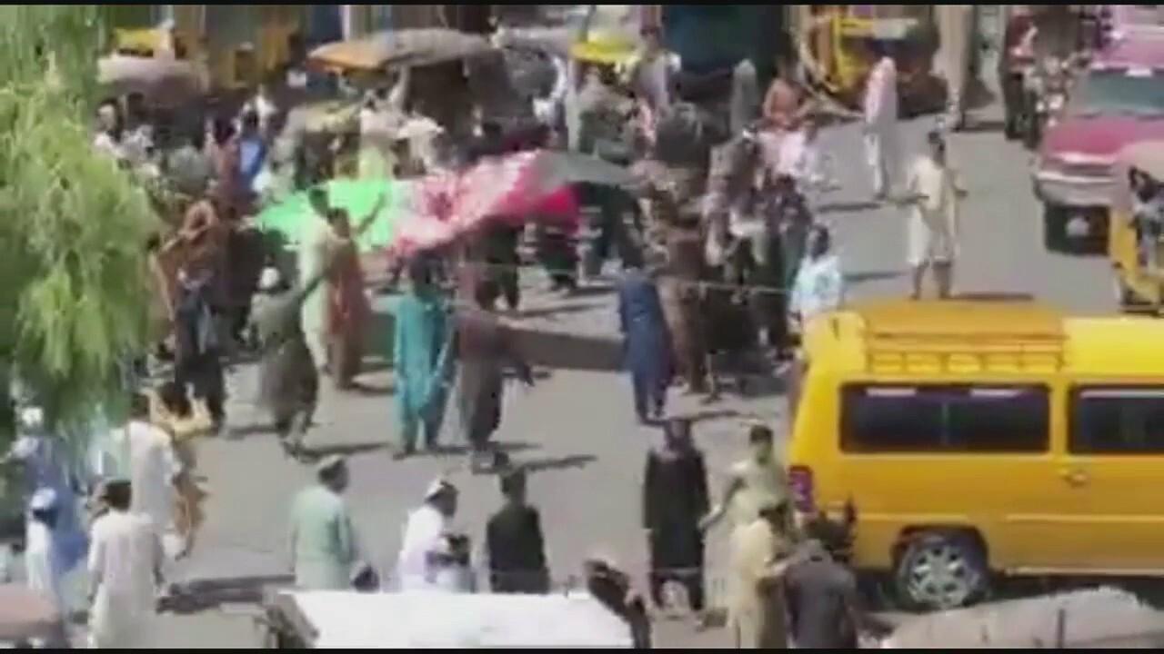 Taliban violently disperse protest in eastern Afghanistan