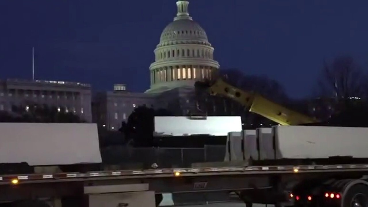 Security expert says there must be show of force in DC for Biden inauguration