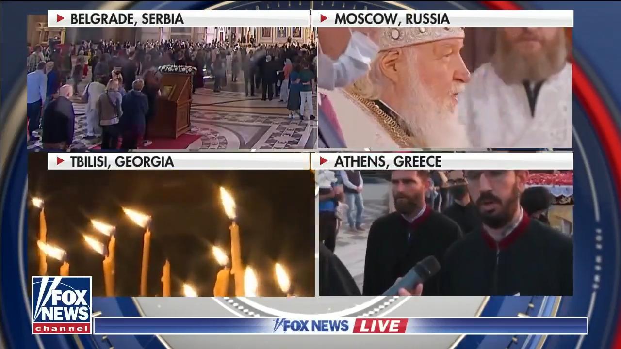 Worldwide celebrations underway for Orthodox Easter