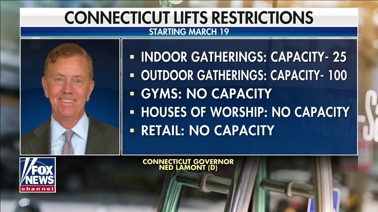 Connecticut lifts coronavirus restrictions