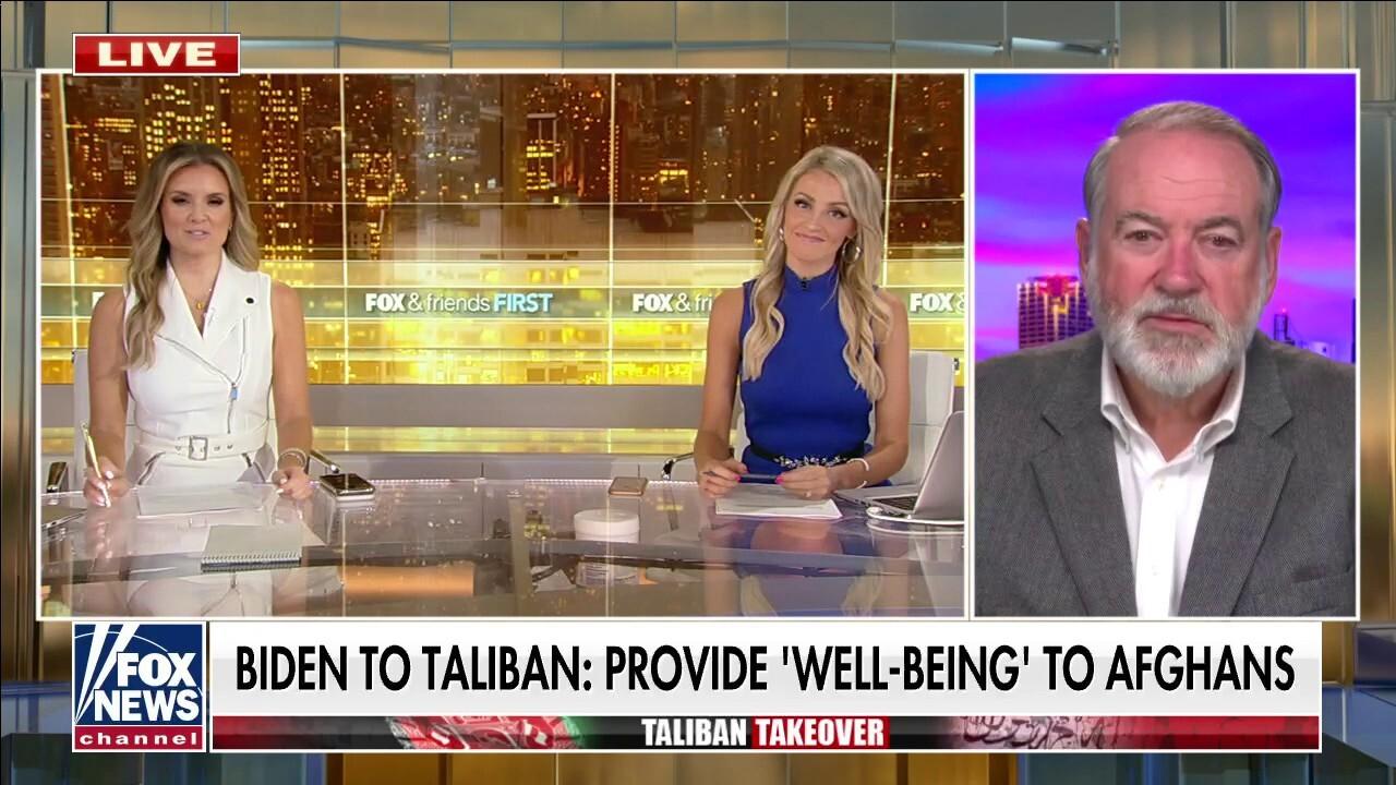 Huckabee: Biden's trust in Taliban stunning