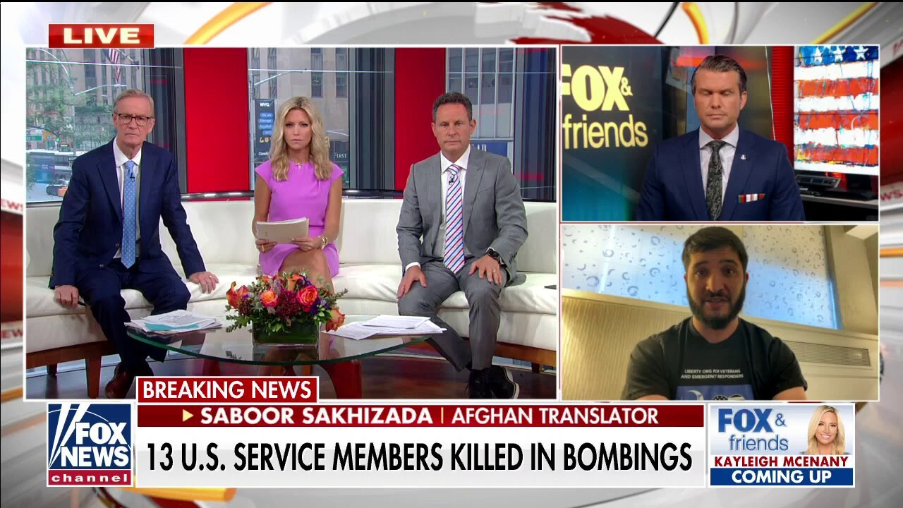 Former Afghan translator on Americans stranded in Afghanistan: 'The next two days will determine their fate'
