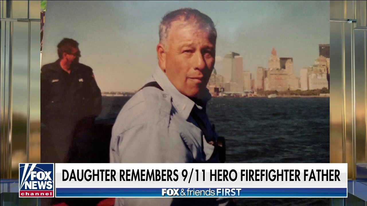 Daughter looks back on her father's heroism on 9/11