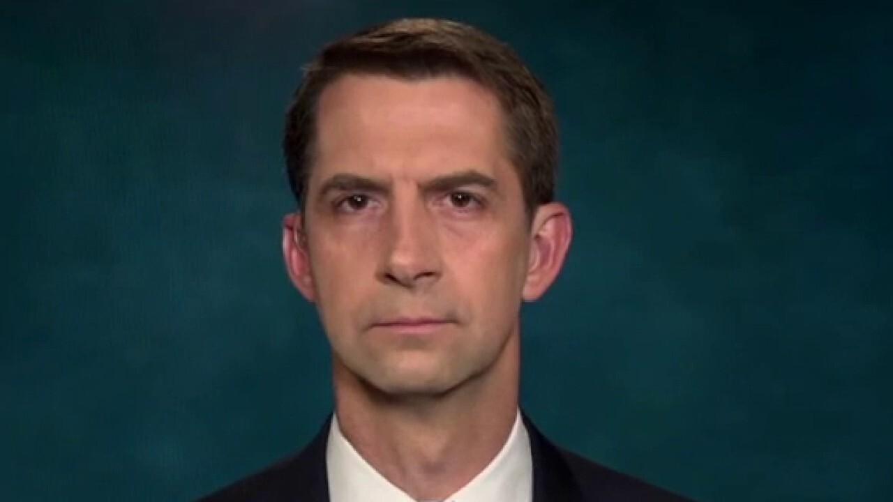Sen. Tom Cotton slams Biden admin's exit strategy from Afghanistan