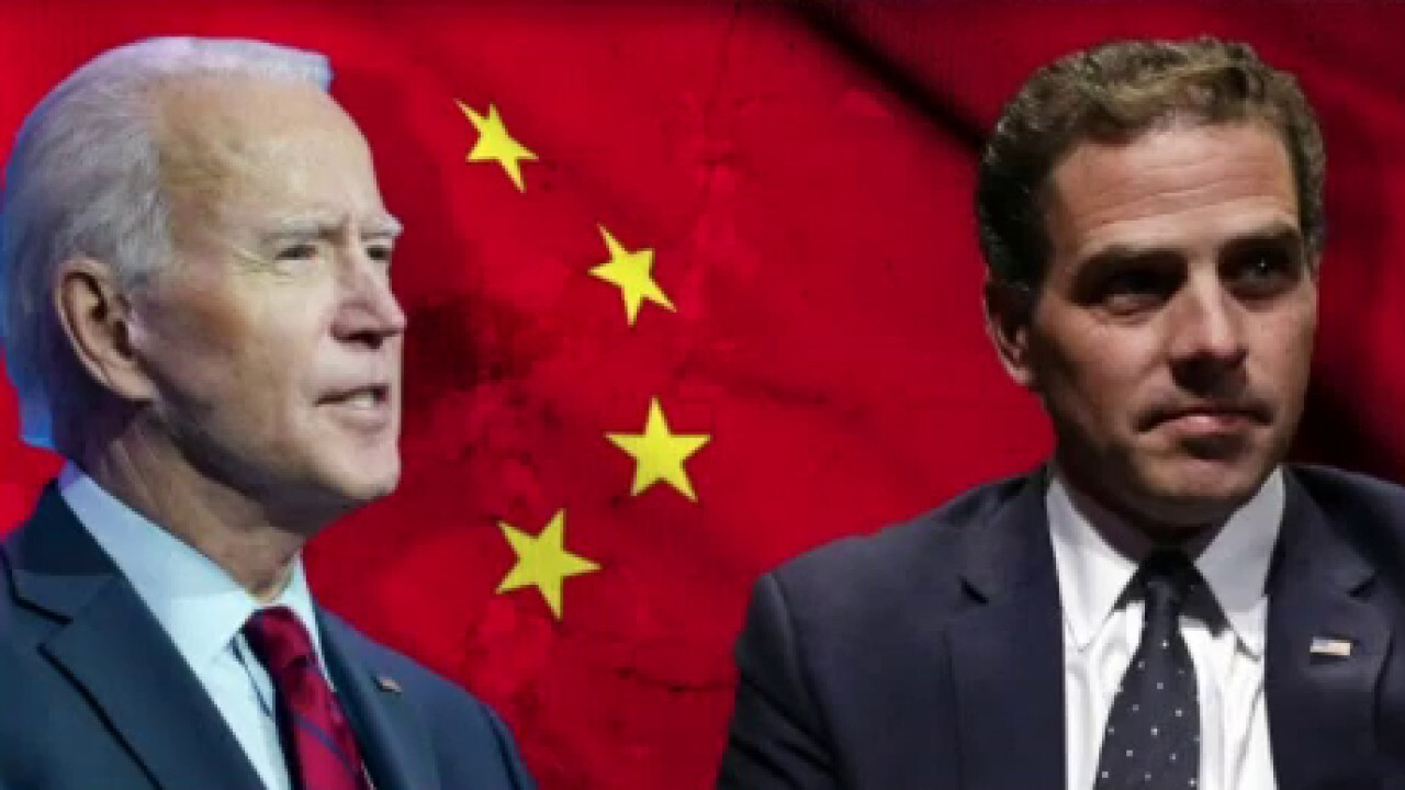 Jesse Watters: The Biden-China connection