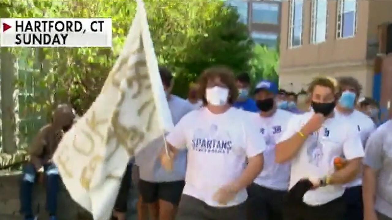High school football players on fighting to save season amid pandemic