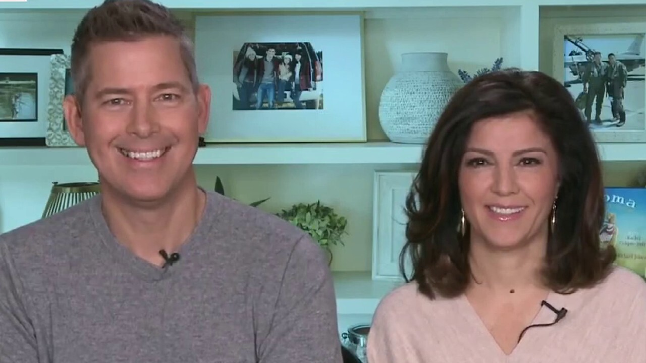 Sean Duffy and Rachel Campos-Duffy talk Hunter Biden, family Christmas traditions