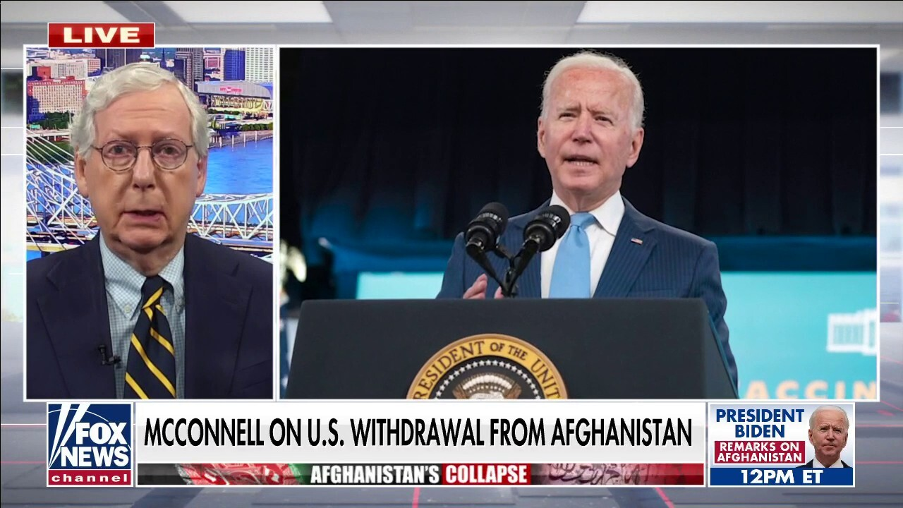 McConnell on US withdrawal from Afghanistan