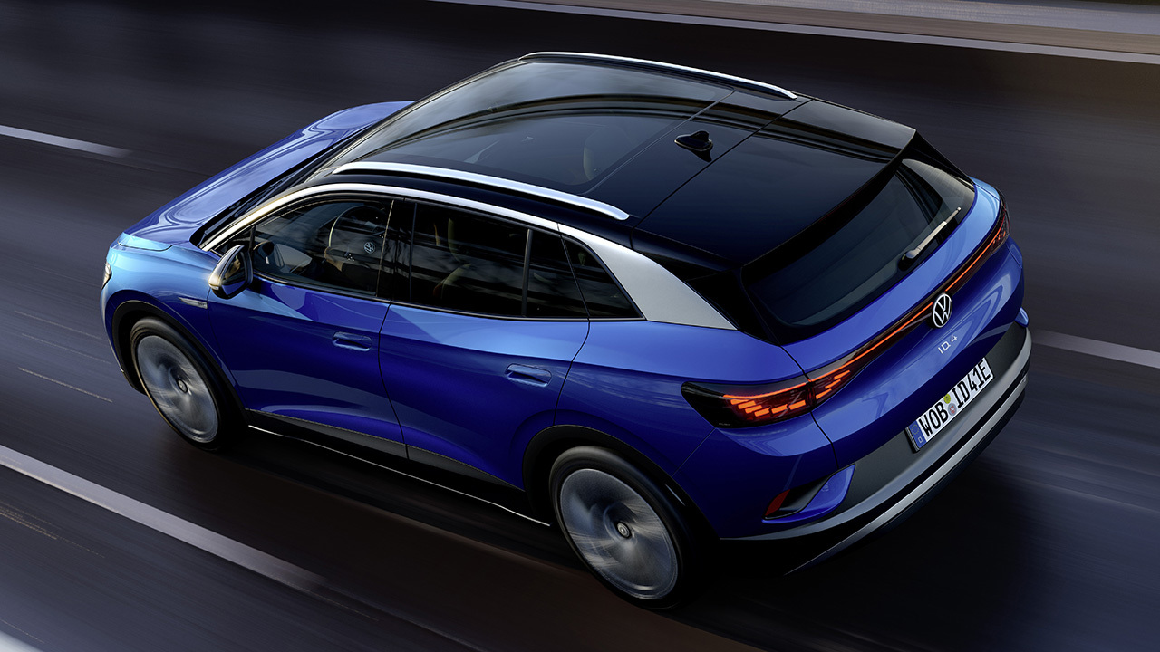 Electric Volkswagen ID.4 revealed