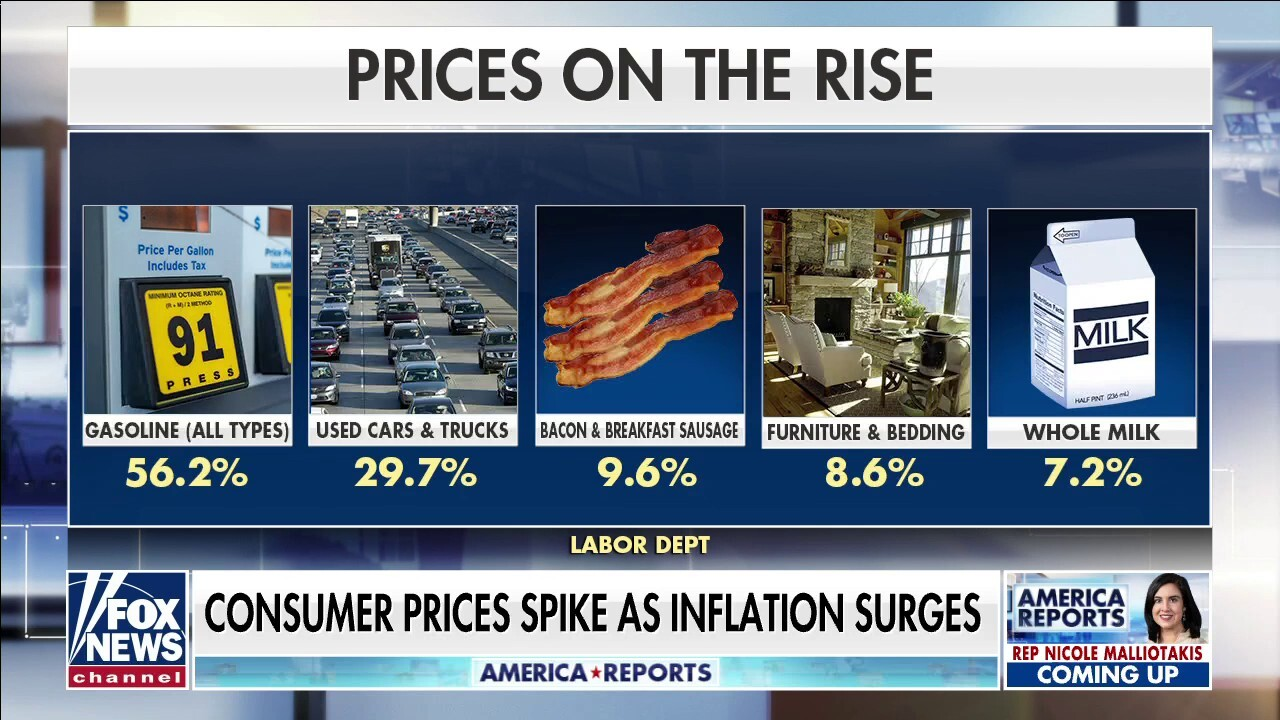 Puzder on inflation surge: How did Biden economists not see this coming?