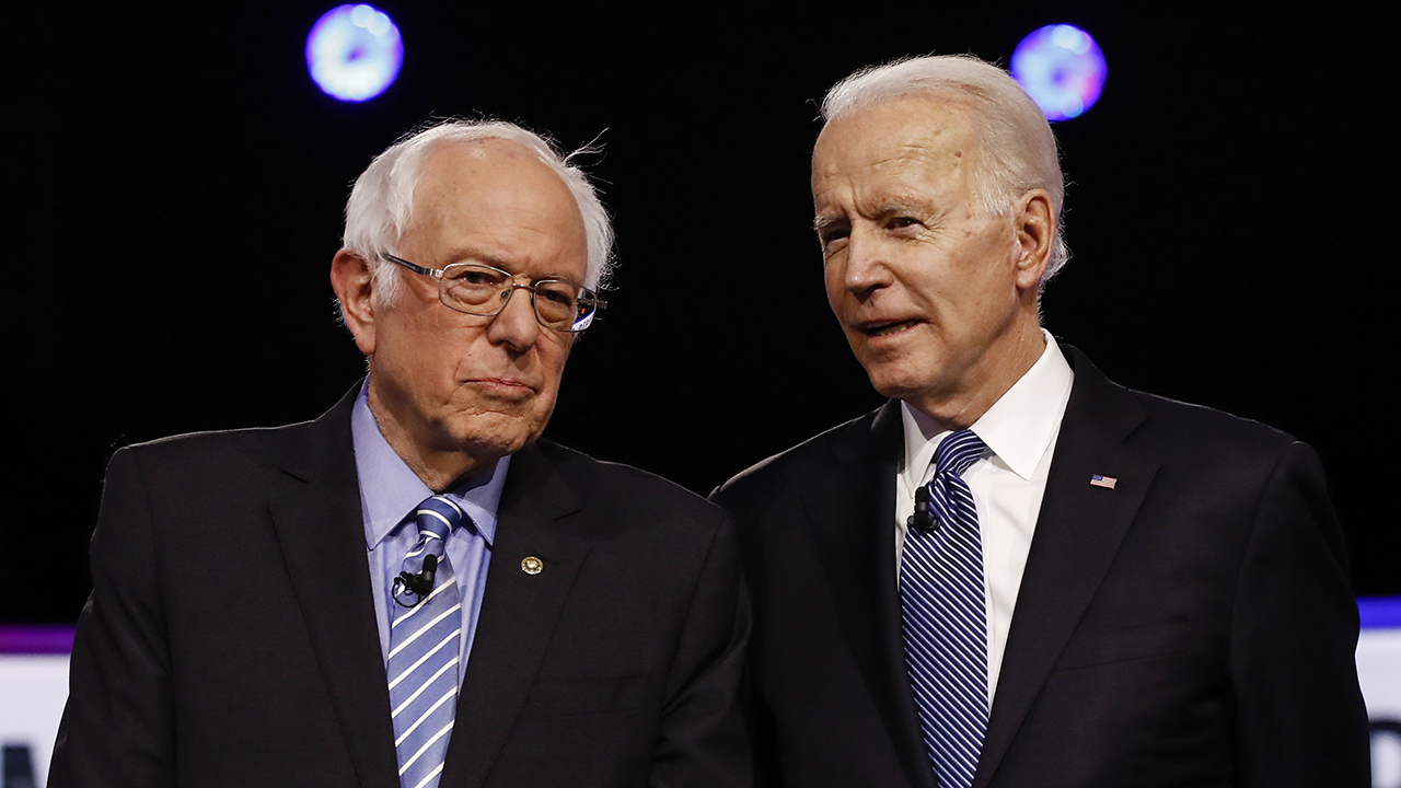 Bernie Sanders hails Biden as possibly the 'most progressive president since FDR'