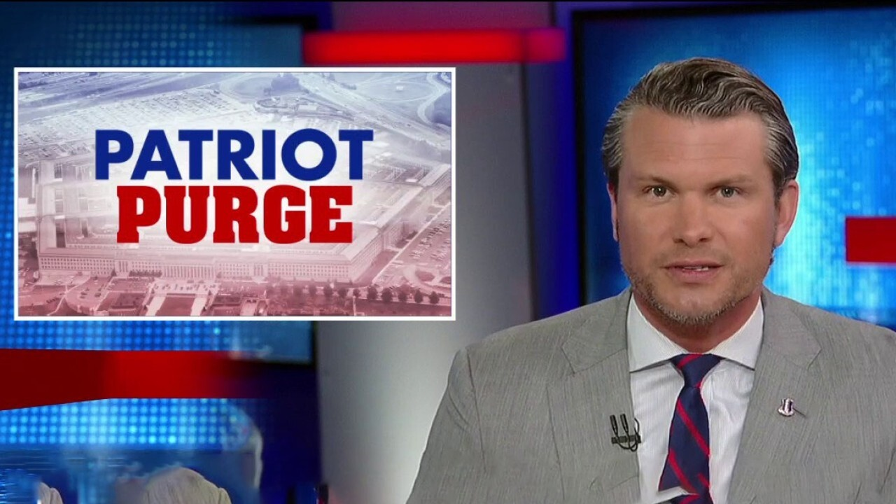 Pete Hegseth: Radical leftists are purging the military of all things MAGA