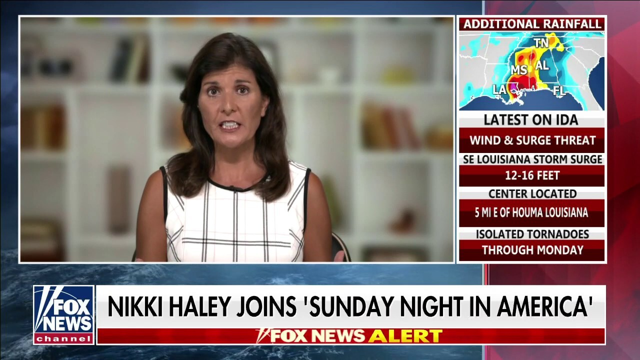 Haley: Biden chose 'arrogance and speed' over make sure 'we are safe' on Afghanistan withdrawal