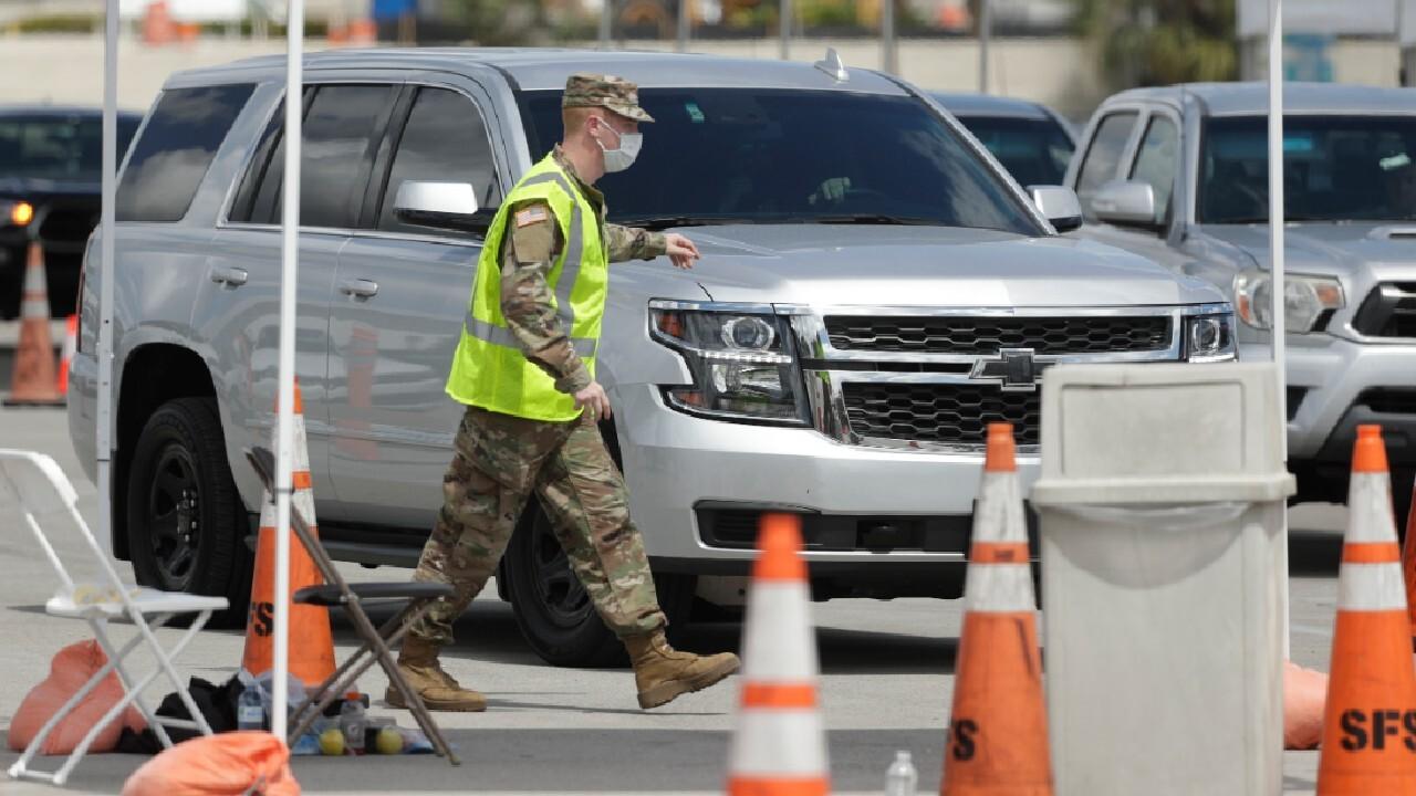 National Guard deployed in California, Washington, New York amid coronavirus pandemic