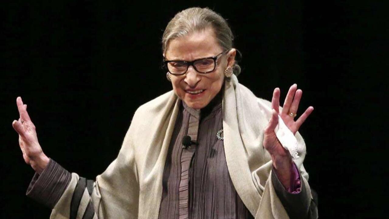 Katie Couric admits she 'protected' Ruth Bader Ginsburg by editing out disparaging remarks on anthem kneelers