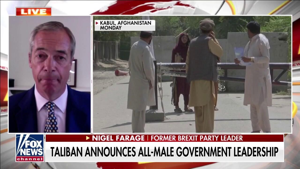Nigel Farage: 'No way' Taliban have changed