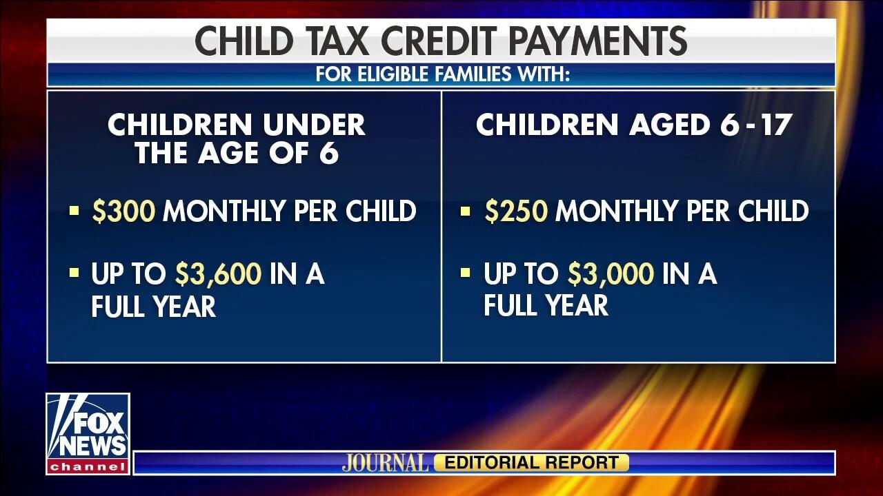 Biden's Child Tax Credit May Hurt Children