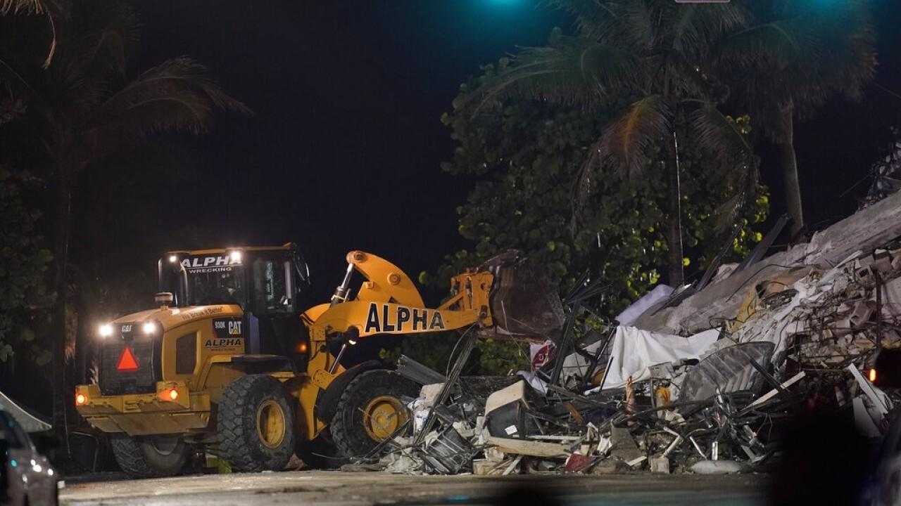 Florida Lt. governor on Surfside rescue efforts: We have not given up hope