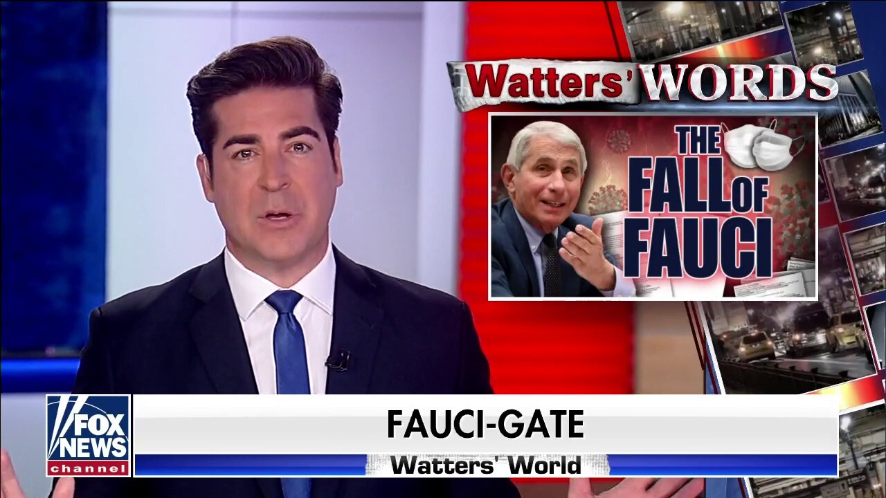 Jesse Watters: 'The Fauci era is officially over'