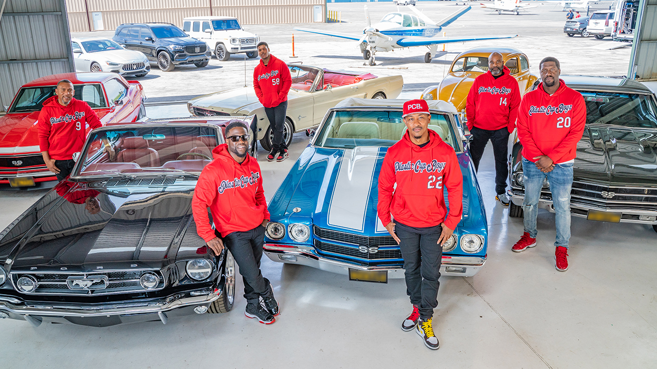 Kevin Hart collecting muscle cars on new Motor Trend show