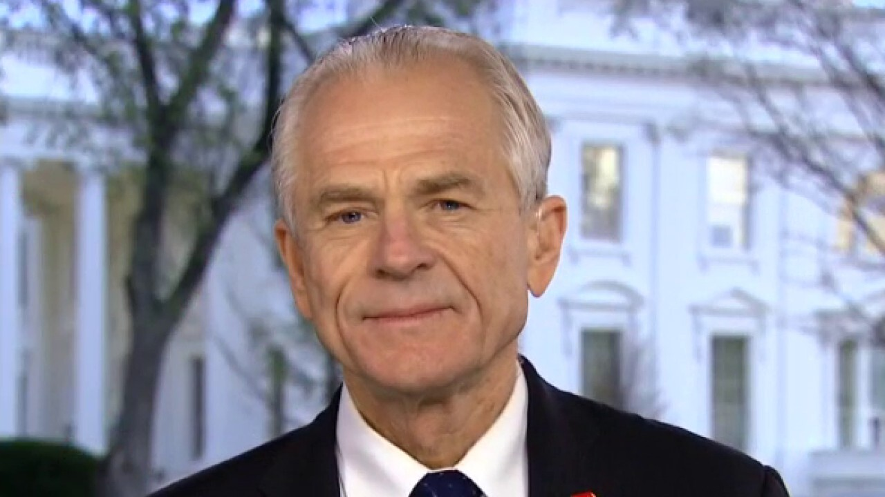 Peter Navarro says Americans have a wartime president in fight against coronavirus